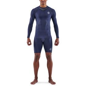 Skins Series-3 Compression LS Top Men, azul